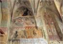 Wandmalerei in der St. Just-Kirche zu Kamenz