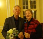 Der Schriftsteller Michael G. Fritz, immer wieder gern gesehener Gast beim Hoyerswerdaer Kunstverein