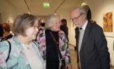 Die Laudatio hielt Martin Schmidt vom Hoyerswerdaer Kunstverein