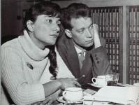 Brigitte Reimann und Siegfried Pitschmann 1962.
