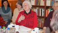 Irmgard Weinhofen: Die langjährige Freundin von  Brigitte Reimann ist gern gesehener Gast in der Reimann-Begegnungsstätte