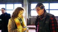 Ida Kretzschmar im Gespräch mit Thomas Reimann, Foto: Kunstverein