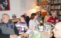 Gesprächsrunde in der Brigitte-Reimann-Begegnungsstätte mit Irmgard Weinhofen im Februar 2016