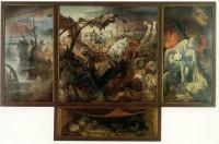 Otto Dix, Der Krieg, gemalt 1929 bis 1932