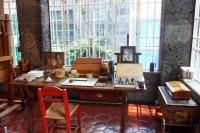 Das Atelier von Frida Kahlo in Mexiko, das Beate Gruß besuchte und von dem sie berichten wird.