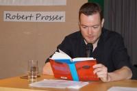Robert Prosser liest 2018 beim Hoyerswerdaer Kunstverein