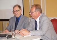 Christian Friedrich und Volkmar Herold, v.l.
