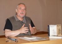 Uwe Jordan liest beim Hoyerswerdaer Kunstverein von und über David Henry Thoreau
