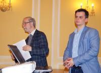 Nach dem Vortrag von Dr. Christoph Wowtscherk, rechts, gab es eine angeregte Diskussion zum Thema.