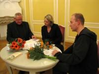 Thomas, Nora und David Pitschmann, v.l.