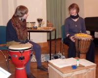 Susann Lorenz und Yana Arlt v.l.