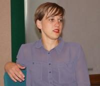 Elisa Ueberschär liest beim Hoyerswerdaer Kunstverein