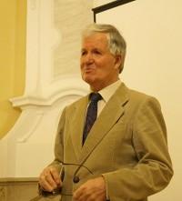 Manfred Dietrich 2015 beim Hoyerswerdaer Kunstverein