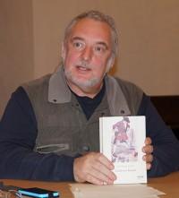Uwe Jordan liest Jonathan Swift, 2017 beim Hoyerswerdaer Kunstverein.