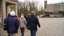 Spaziergang zum Schloss Albrechtsberg