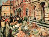 Otto Garten, Markttag in Kamenz, 1929