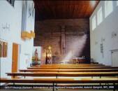 Friedrich Press, Klarissinnen-Kloster Bautzen, Jesus verlässt die Wand als Auferstandener.