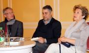 Mirko Schwanitz, Alek Popov, Dora Stütz, v.l.