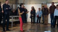 Kirstin Zinke, Museumsleiterin, eröffnet die Ausstellung