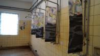Ehemaliger Duschraum, gestaltet von Susanne Kruse, Laasow