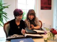 Angela und Kira Potowski v.l. Foto: Uwe Jordan