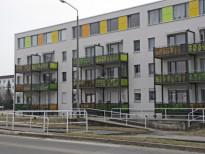 """""""Entdecke die Entdecker"""" an Balkonen in der Virchowstraße Hoyerswerda"""