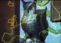 Der Uhu als Symbol der Schlaraffen, deren Anhänger in der ganzen Welt zu finden sind.