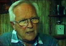 Der Schauspieler Alfred Müller in einem Film von Bernd Cäsar Langnickel
