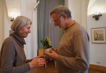 Erich Busse ist immer wieder ein gern gesehener Gast beim Hoyerswerdaer Kunstverein.
