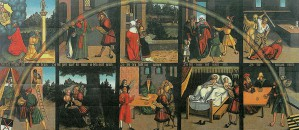 """""""Die Zehn Gebote"""" von Lucas Cranach"""
