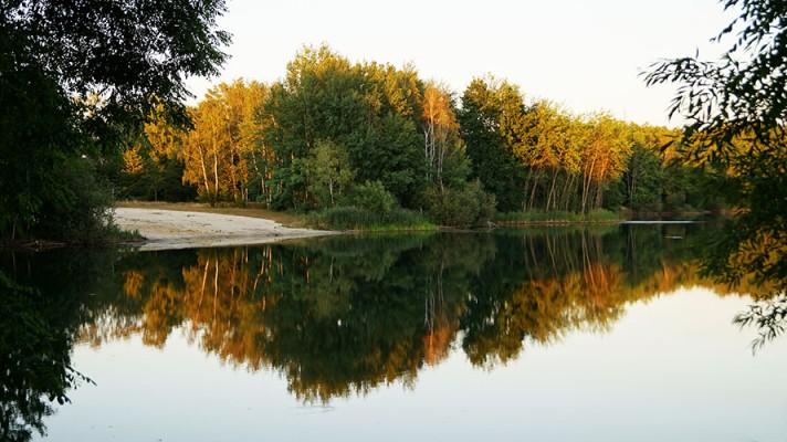 Herbst am Bröthener See